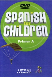 Spanish for Children Primer A - DVD