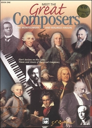 Meet The Great Composers Book 1 (with CD)