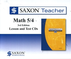 Saxon Math 5/4 - Teacher CDs