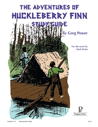 Adventures of Huckleberry Finn - Study Guide