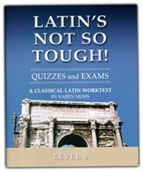 Latin's Not So Tough! 5 - Quizzes & Exams