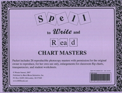 Spell to Write and Read - Chart Masters