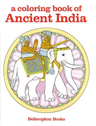 Coloring Book of Ancient India