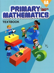 Primary Mathematics 6A - Textbook