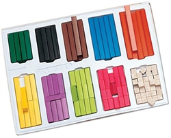 Cuisenaire Rods Small Group Set (in tray)