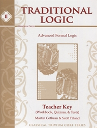 Traditional Logic II - Teacher Key (old)