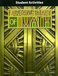 Fundamentals of Math - Student Activities