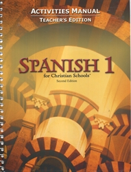 Spanish 1 - Activities Manual Teacher Edition (old)