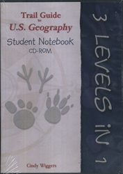 Trail Guide to U.S. Geography - Student Notebook CD-ROM
