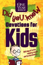 One Year Book of Did You Know Devotions for Kids