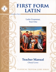 First Form Latin - Teacher Manual