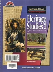 Heritage Studies 3 - Home Teacher Edition (old)