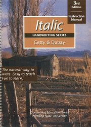 Italic Handwriting - Instruction Manual (old)