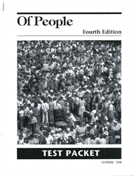 Of People - Tests