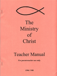 Ministry of Christ - Answer Key