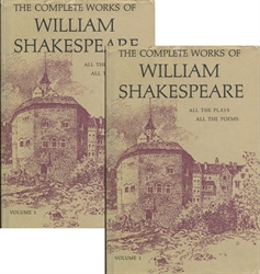 Complete Works of William Shakespeare - 2 Volumes