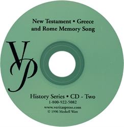 New Testament, Greece and Rome - Compact Disc