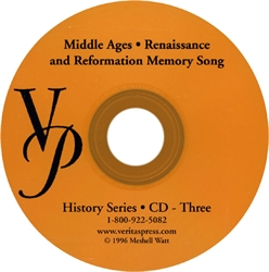 Middle Ages, Renaissance and Reformation - Compact Disc