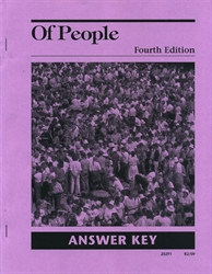 Of People - Answer Key
