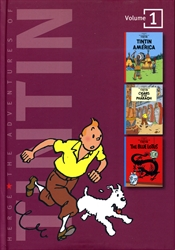 Adventures of Tintin Volume 1 (3-in-1)
