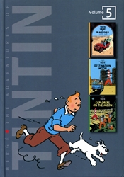 Adventures of Tintin Volume 5 (3-in-1)