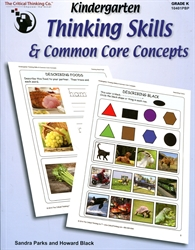 Kindergarten Thinking Skills & Common Core
