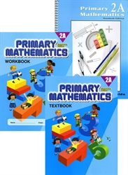 Primary Mathematics 2A - Semester Pack