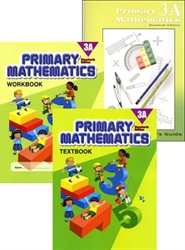 Primary Mathematics 3A - Semester Pack