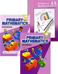 Primary Mathematics 4A - Semester Pack