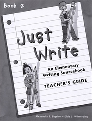 Just Write Book 2 - Teacher's Guide