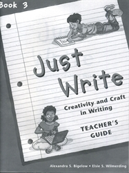 Just Write Book 3 - Teacher's Guide