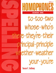 Spelling Plus - Homophones Resource Book