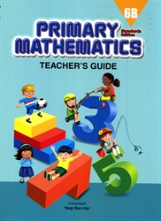 Primary Mathematics 6B - Teacher's Guide