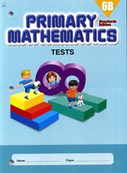 Primary Mathematics 6B - Tests
