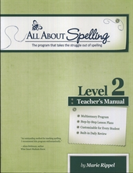 All About Spelling Level 2 - Teacher's Manual