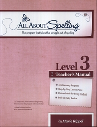 All About Spelling Level 3 - Teacher's Manual