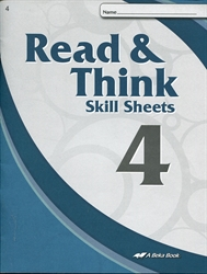 Read & Think 4 Skill Sheets