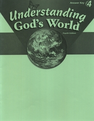 Understanding God's World - Answer Key