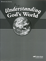 Understanding God's World - Test/Quiz Key