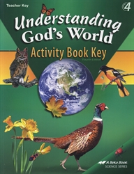 Understanding God's World - Activity Key
