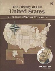 History of Our United States - Map Skills Book