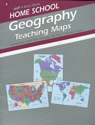 Home School Geography Teaching Maps Book