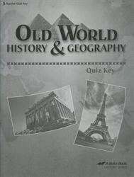 Old World History & Geography - Quiz Key
