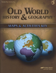 Old World History & Geography - Maps Skills Key