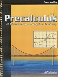 Precalculus with Trigonometry and Analytical Geometry - Solution Key