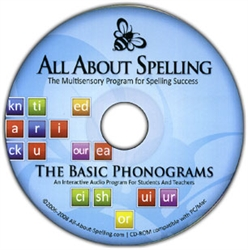 All About Spelling Phonogram CD-ROM
