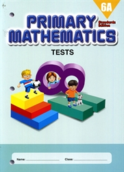 Primary Mathematics 6A - Tests