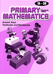 Primary Mathematics - Answer Keys 1A-3B