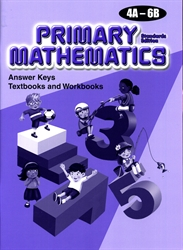 Primary Mathematics - Answer Keys 4A-6B