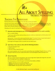 All About Spelling Phonogram Cards